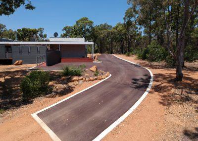 Asphalt Car Park & Access way